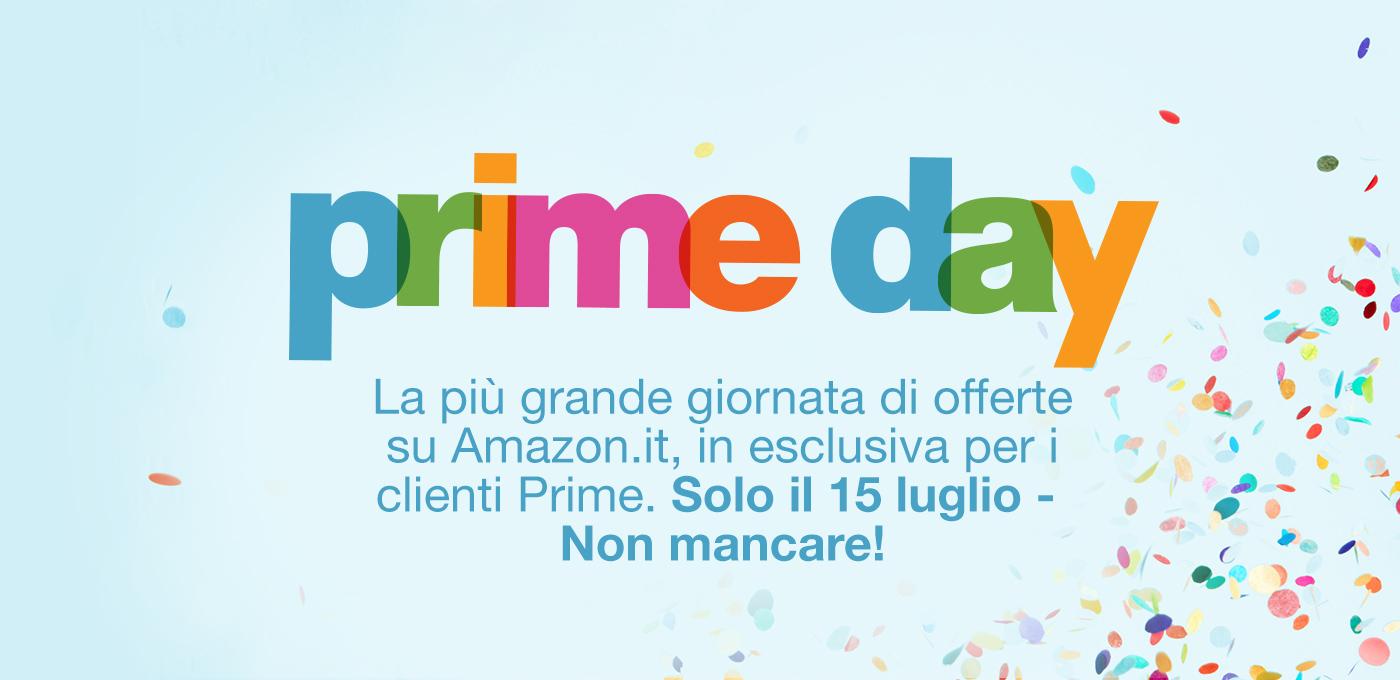 Prova Amazon Prime e accedi alle offerte il 15 luglio per festeggiare il 20° compleanno di Amazon